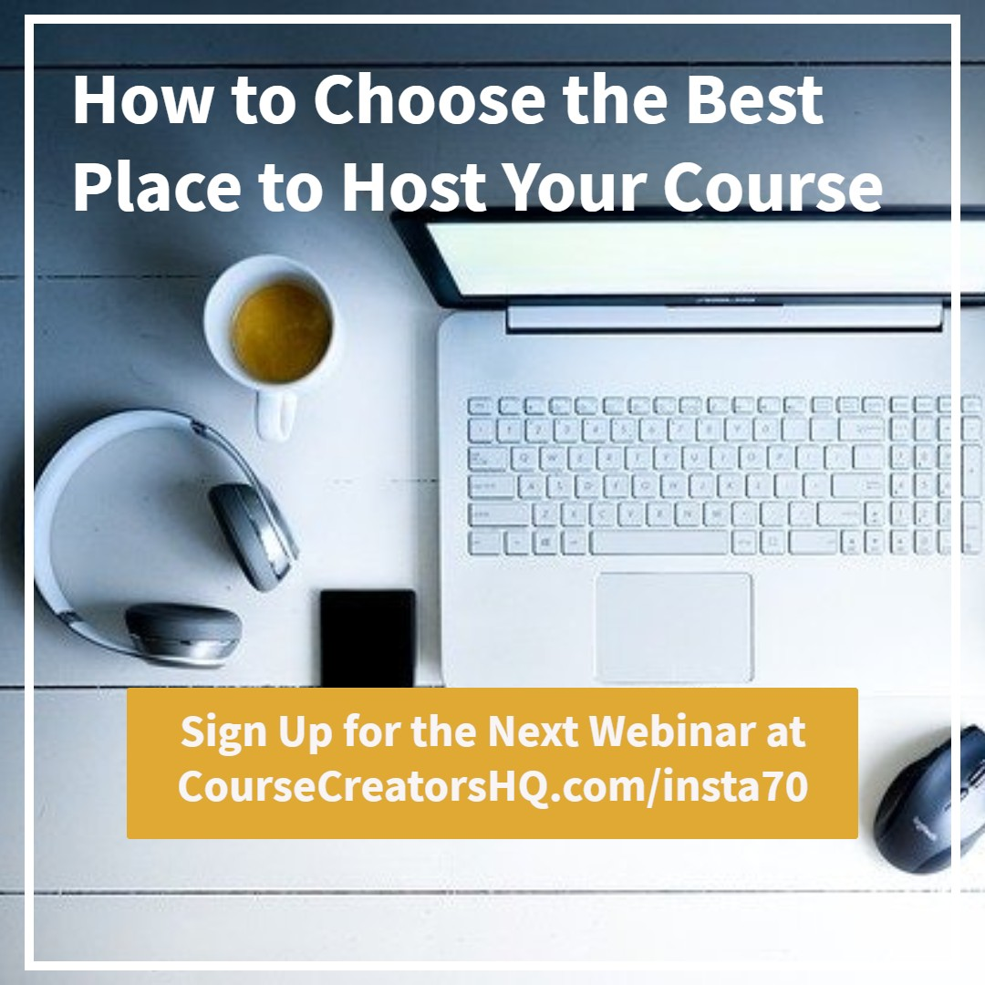 Choose Your Course Tech Webinar
